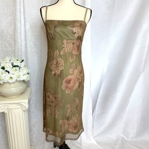 Necessary Objects Floral Sundress